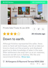 36 Kangaroo RT - Buyer Review